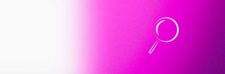 Значок «лупа для поиска причин венозной недостаточности»